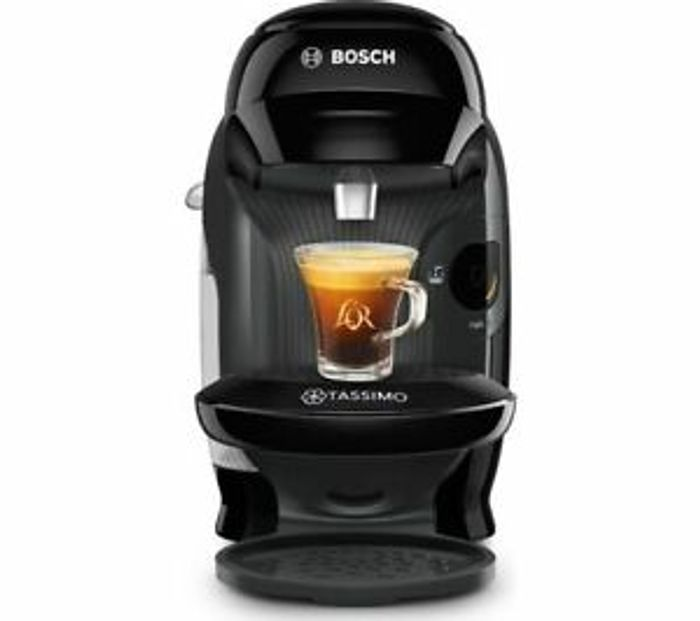 Bosch Tassimo Coffee Machine In Black With 2 Year Guarantee - £29 Delivered