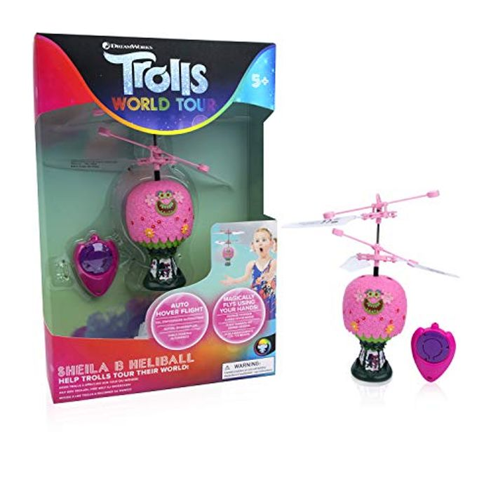 STUFF Trolls World Tour Princess Poppy Hot Air Balloon - Only £8.38!