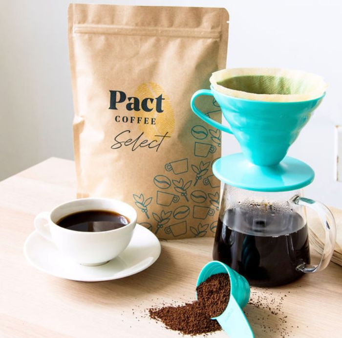 FREE Pact Coffee