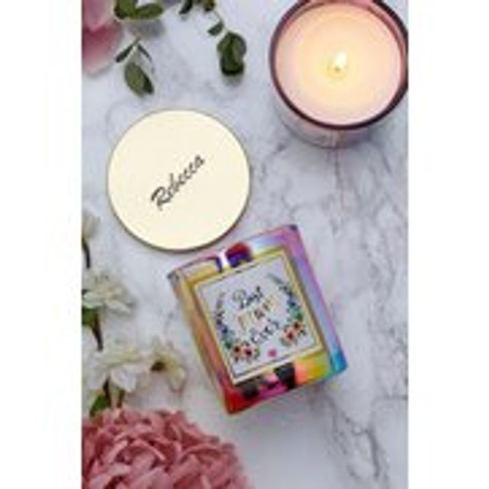 Personalised Scented Wishes Mum Candle