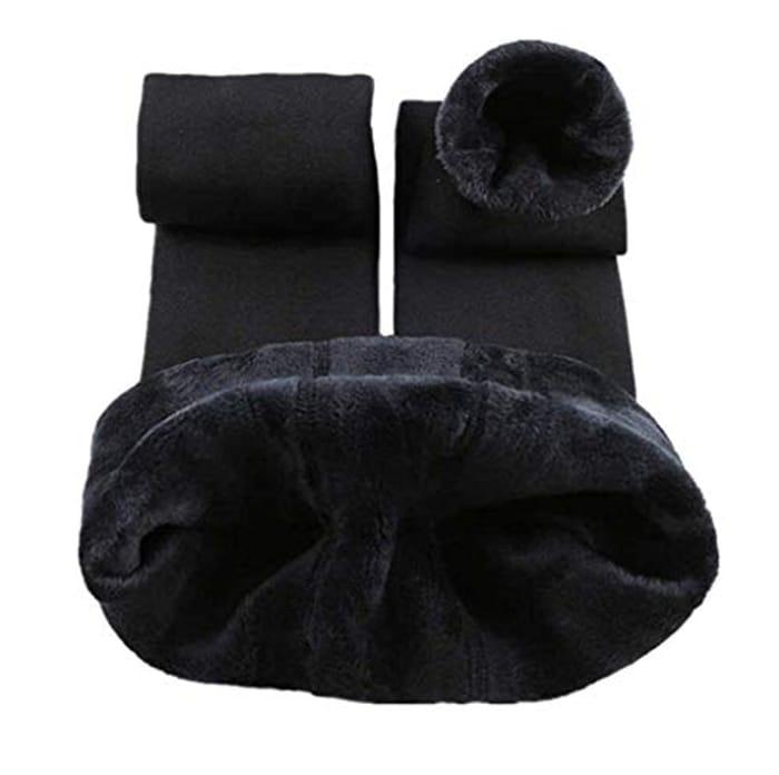 Women Winter Warm Knit Leggings - Only £6.94!