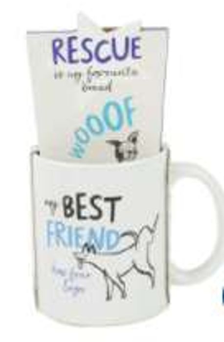 Battersea Dog Mug & Tea - Only £3!