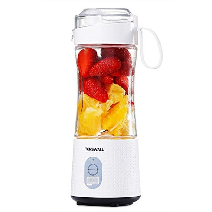 DEAL STACK - Portable Mini Blenders for Smoothies and Shakes + £3 Coupon