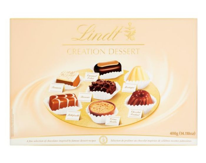 Lindt Creations Selection Box *40 Assorted Fine Dark, Milk & White Chocolates
