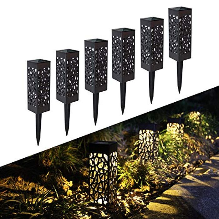 Solar Garden Lights Only £9.60 (Prime Delivery)