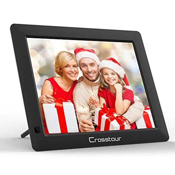 Digital Photo Frame, 8 Inch Wide Screen