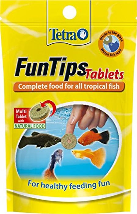 Tetra FunTips Fish Food - 20 Tablets - Only 85p!