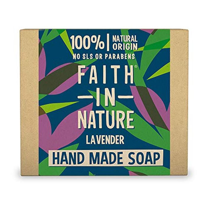 BEST EVER PRICE Faith in Nature Natural Lavender Hand Soap Bar,