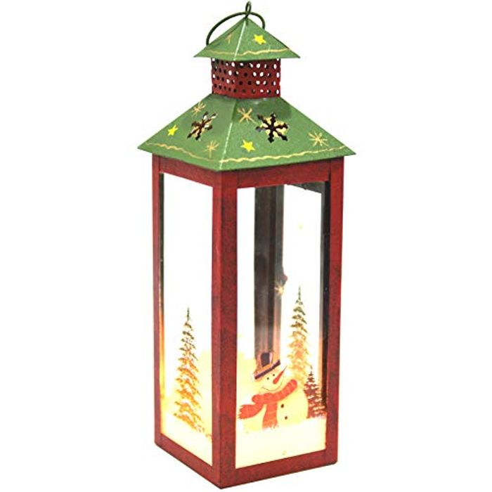 DEAL STACK - I GO Christmas Candle Lantern Decoration + 10% Coupon