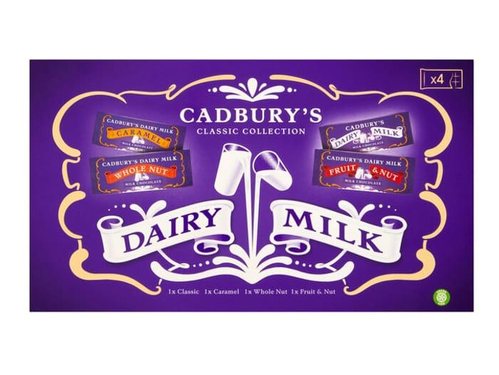 Cadburys Dairy Milk Classic Collection 430g