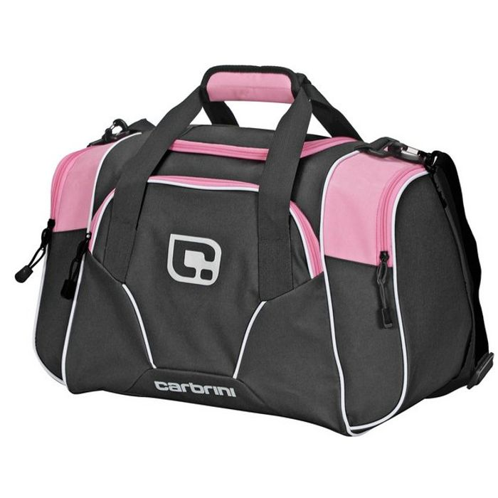 Carbrini Small Black and Pink Holdall