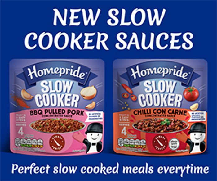 Free Homepride Slow Cooker Concentrated Sauces - Mumsnet Panel