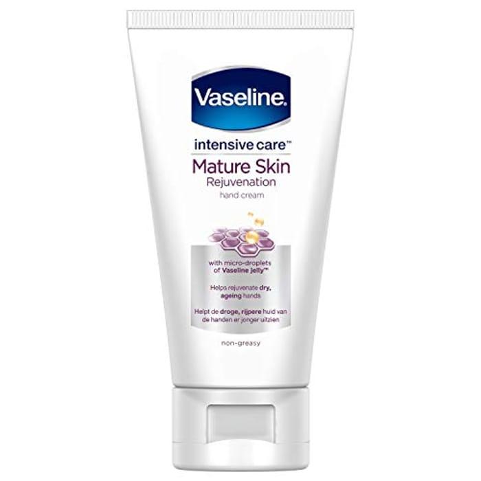 Vaseline Intensive Care Mature Skin Rejuvenation Hand Cream 75ml 1 79 At Amazon Latestdeals Co Uk