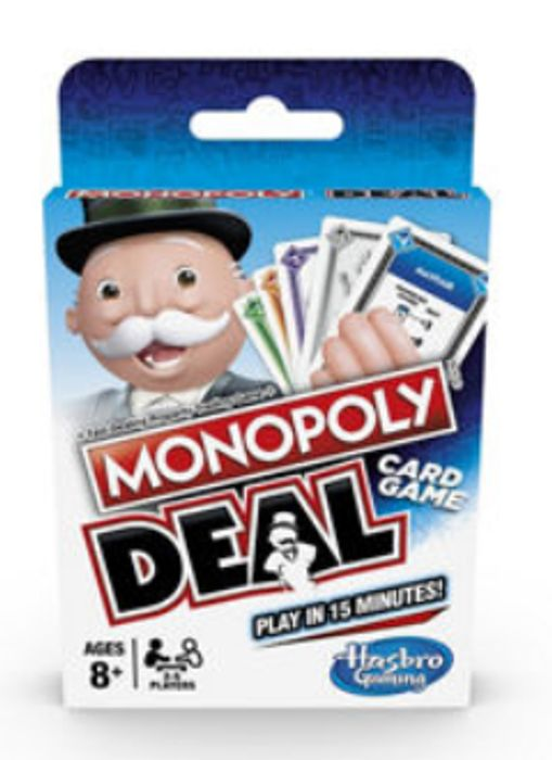 Hasbro Monopoly Deal Card Game (8+ Years) - Only £3.5!