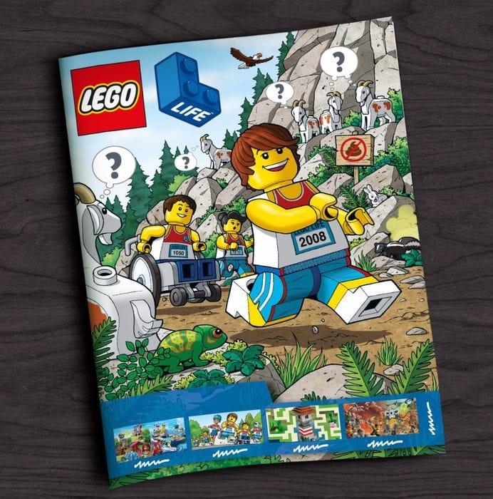 Free LEGO Life Magazine (4 Per Year)