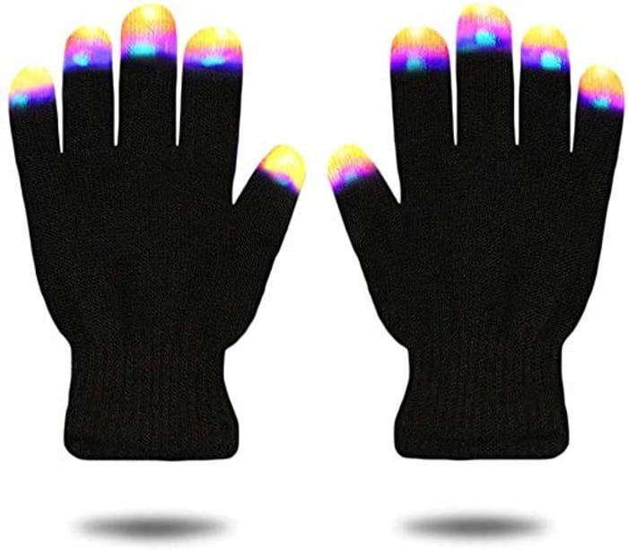 Finger Light Flash LED Gloves