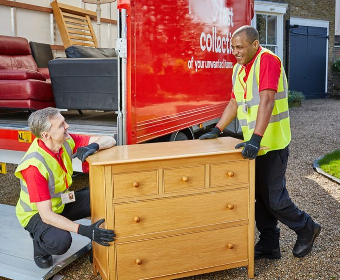 Free Furniture, Electrical and Homewares Collection for Donations to BHF