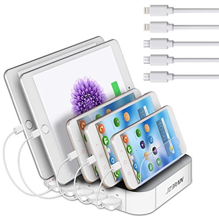 Half Price! JZBRAIN Charging Station for Multiple Devices