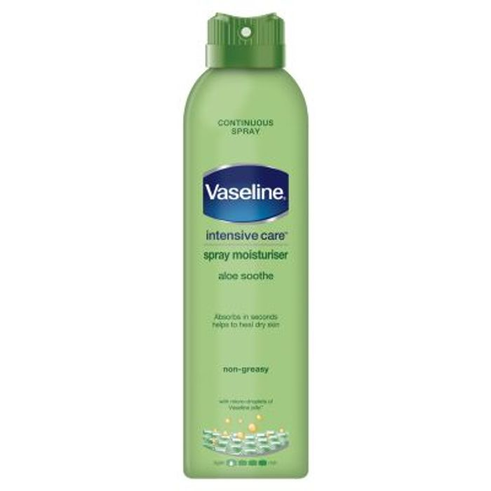 Vaseline Intensive Care Aloe Soothe Spray Moisturiser 190ml