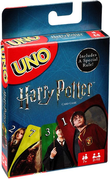 Harry Potter UNO - Family Card Game