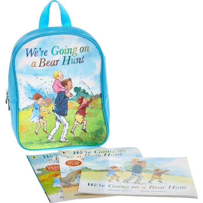 Walker Books Bear Hunt Books & Backpack Set