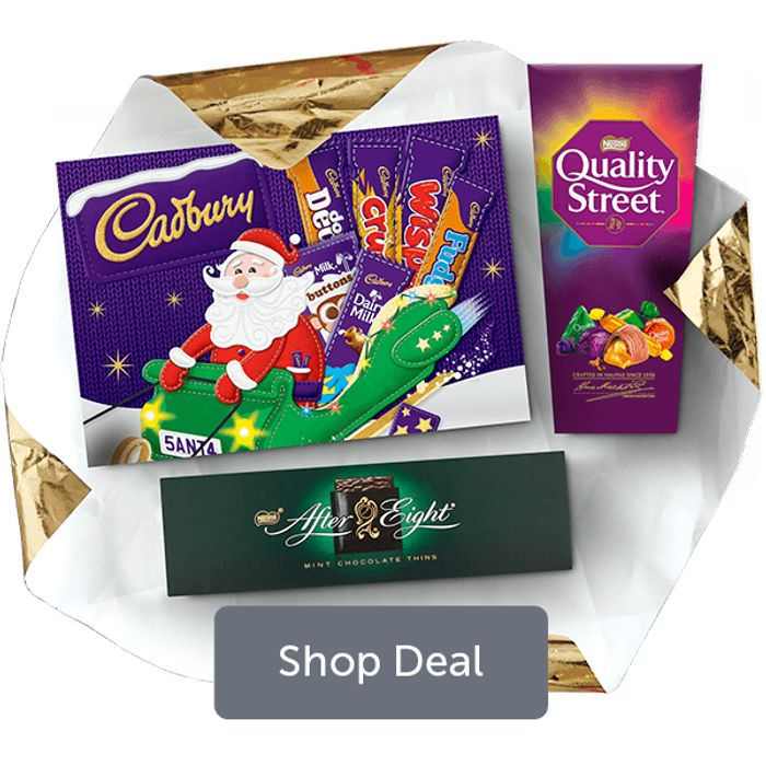 Buy Any 3 for £4 on Quality Street , After Eight & Medium Selection Box
