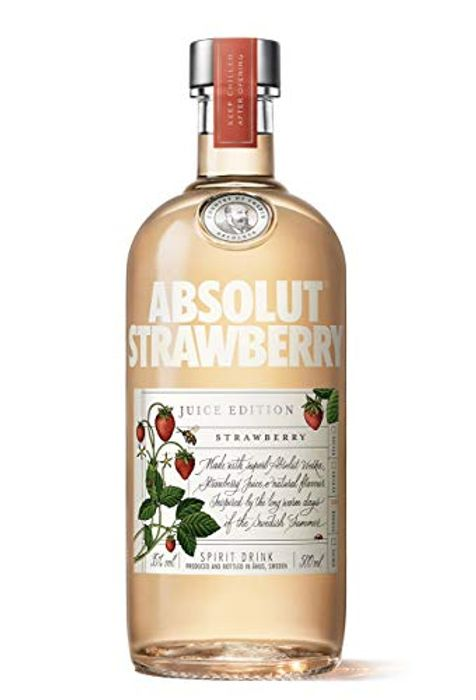 Absolut Vodka Strawberry Juice Edition, 50cl