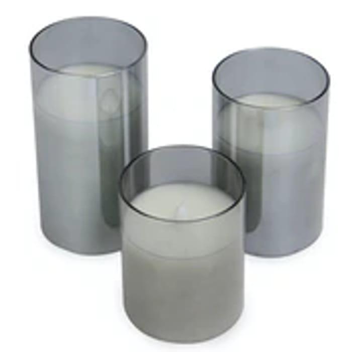 LED Candles - Set of 3