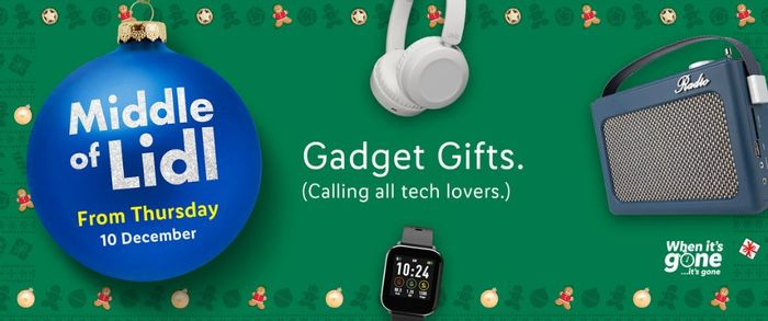 Gadget Gifts at Lidl
