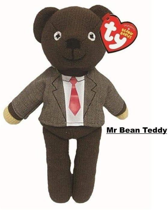 Ty Beanie Babies - MR BEAN TEDDY ***4.8 STARS***