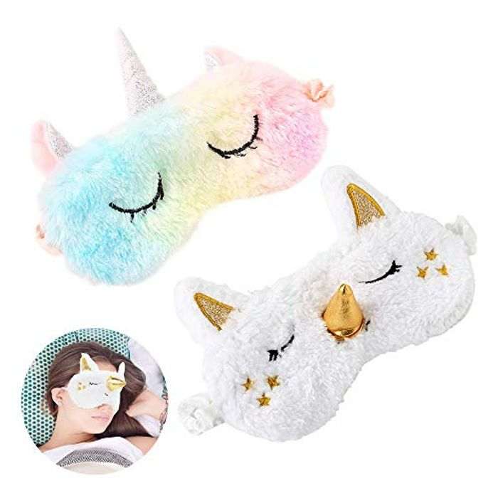 Unicorn Sleeping Mask for Women and Girls