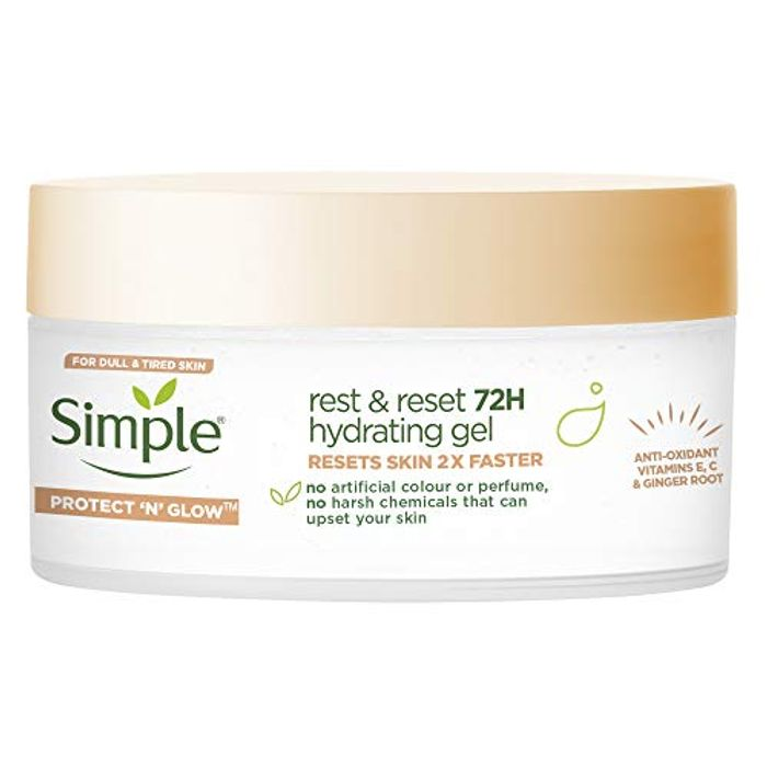 BEST EVER PRICE Simple Protect 'N' Glow Rest and Reset 72 Hour Hydrating Gel