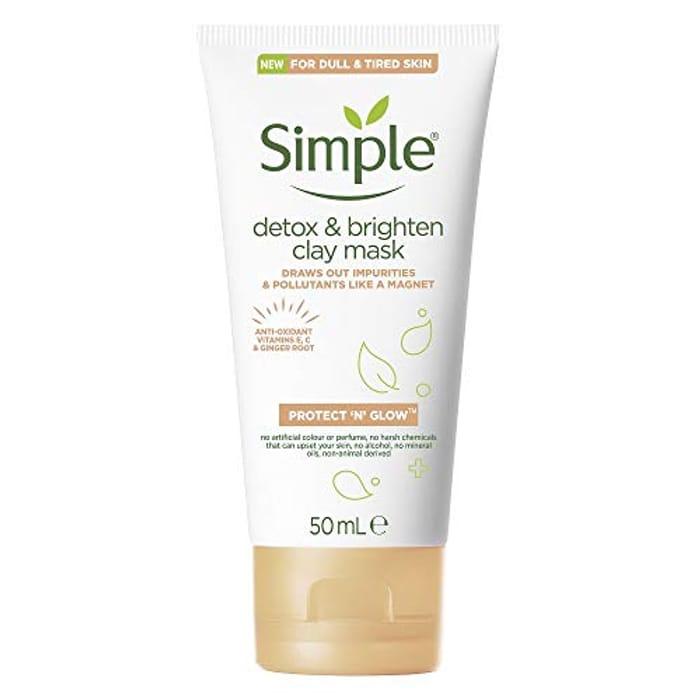 BEST EVER PRICE Simple Protect 'N' Glow Detox & Brighten