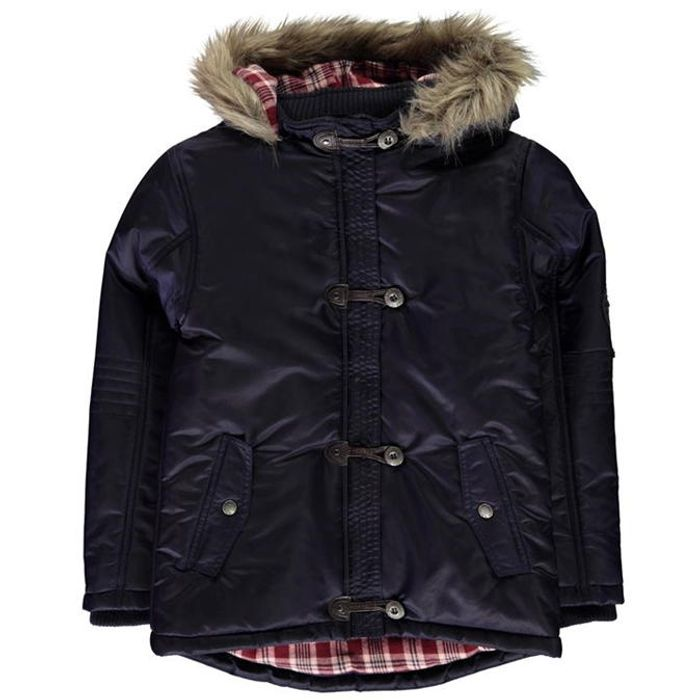 SoulCal Toggle Parka Jacket Junior Girls
