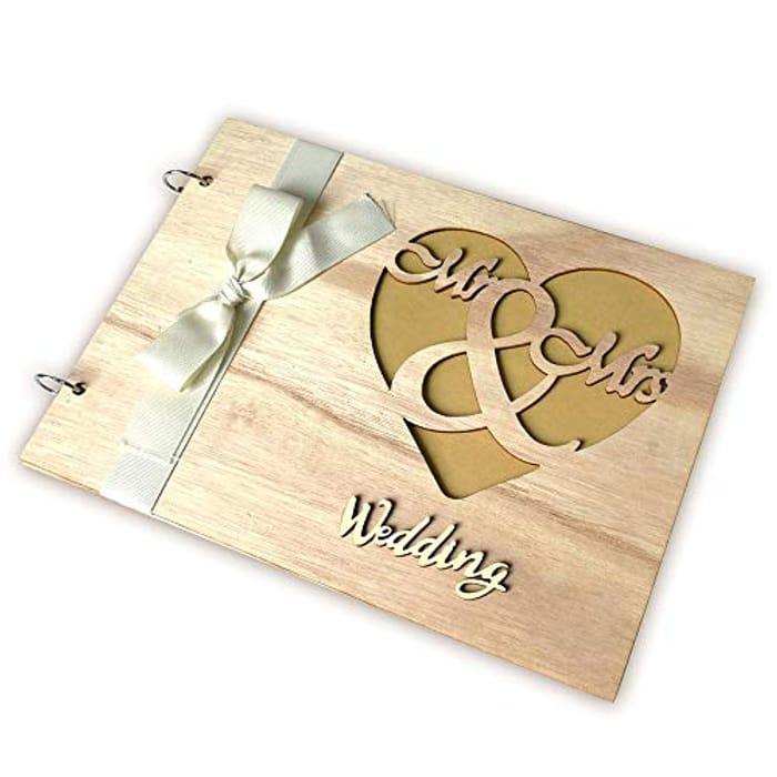 Wooden Wedding Album