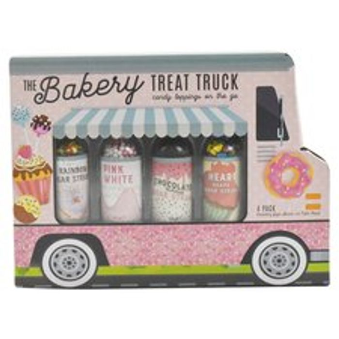 Cupcake Decorating Food Truck 4 Pack / Pizza Food Stand 4 Pack