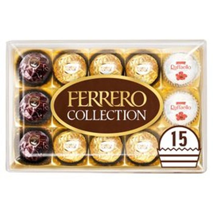 3 X Ferrero Collection 15 Pieces 172g