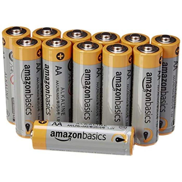 Aa Amazon Basics Batteries 12 Pack