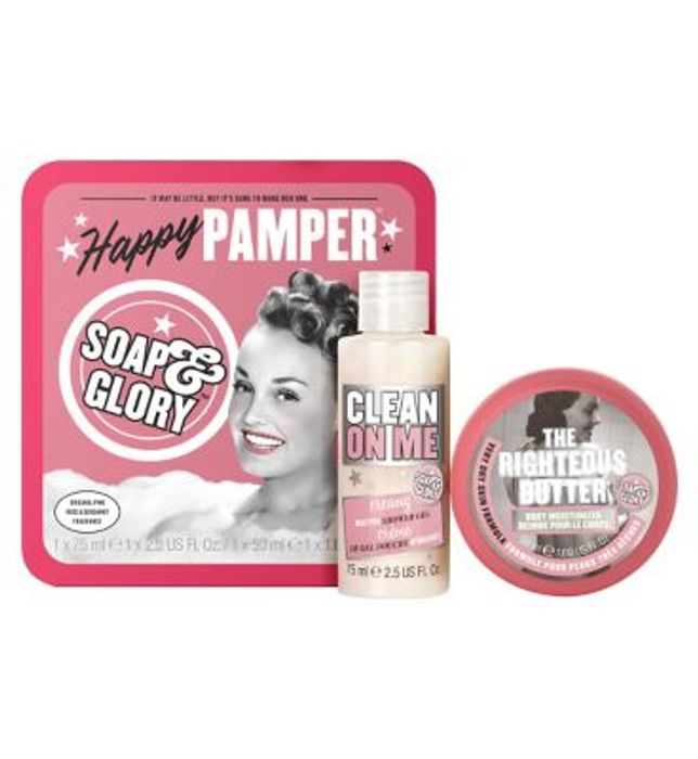 Soap & Glory Happy Pamper Gift Set, Available Online & in Store