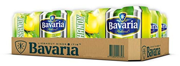 Bavaria Lager Shandy, 6x330ml - Only £2.50!