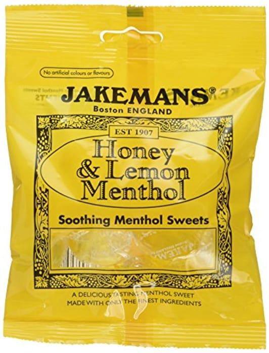 Jakemans Honey & Lemon Bags 100g - Only 55p at Amazon