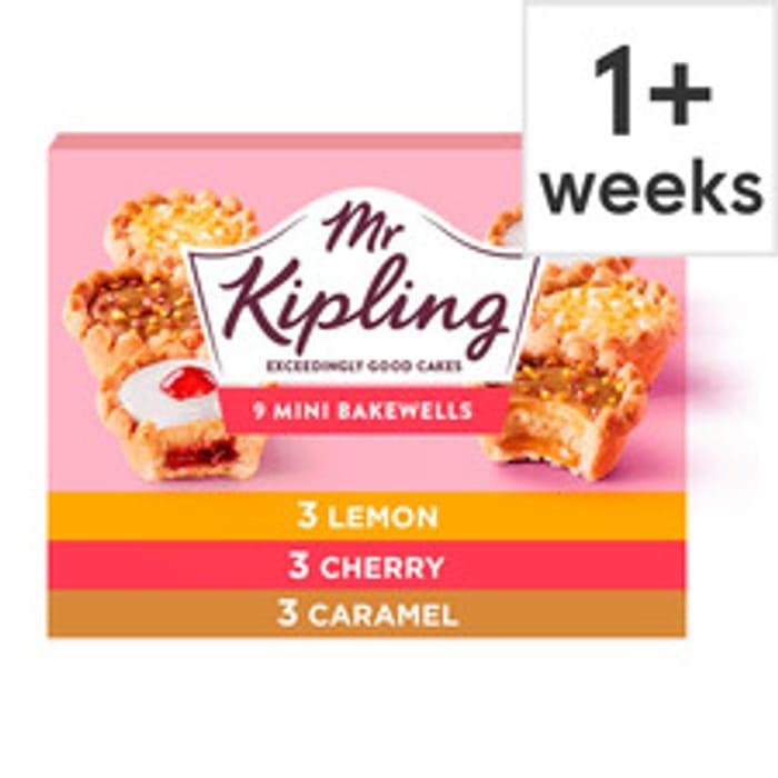 Mr Kipling Mini Bakewell Selection 9 Pack