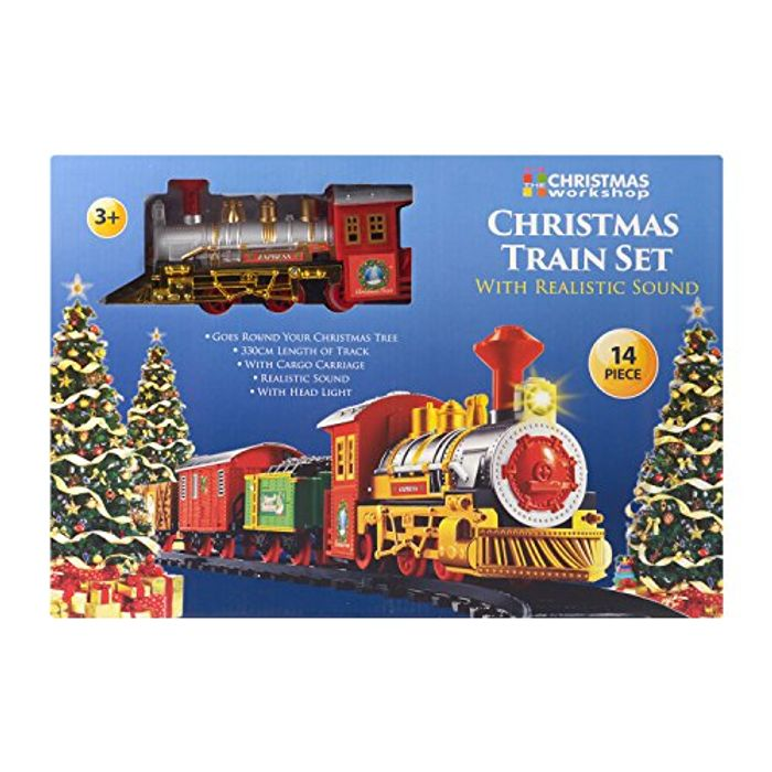 The Christmas Workshop Deluxe Santas Express Delivery Christmas Train