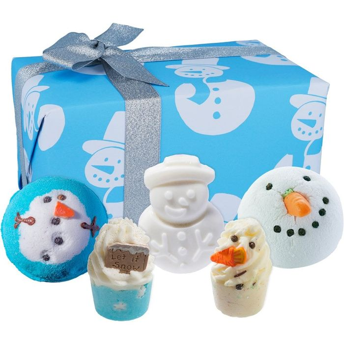 Save 1/3rd - Bomb Cosmetics Mr Frosty Gift Set - Free Delivery