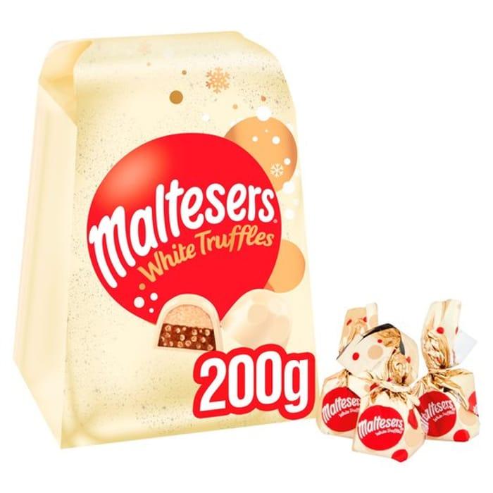 Maltesers White Truffles 200G - Clubcard Price