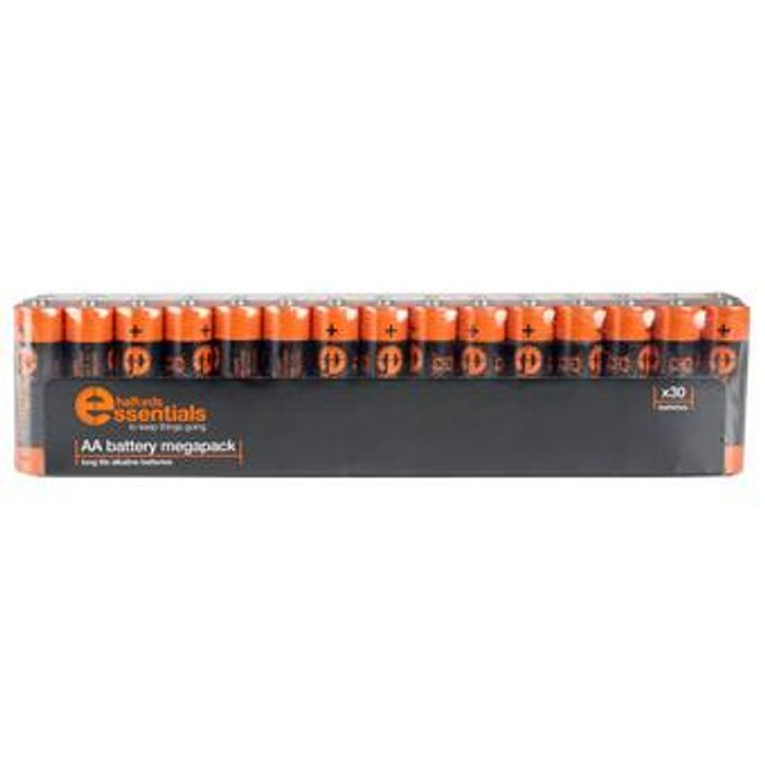 30 Pack AA Batteries