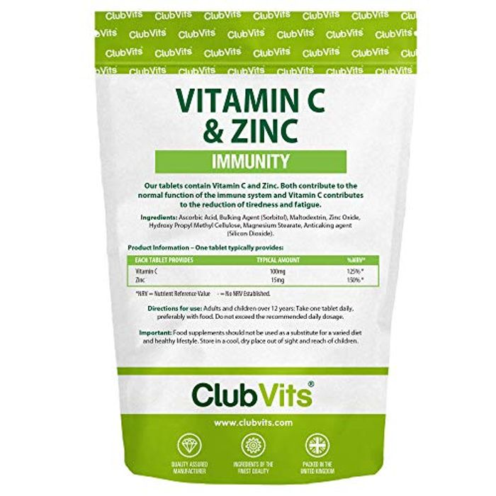 Vitamin C & Zinc Supplements