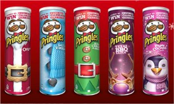 Pringles - All Flavours - £1.00 Clubcard Price