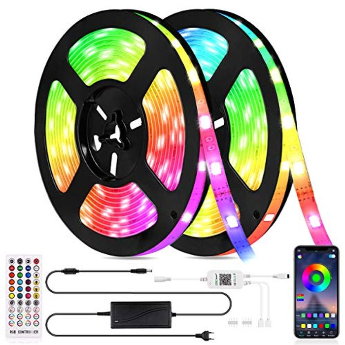 LED Strips Lights with £10 off Coupon