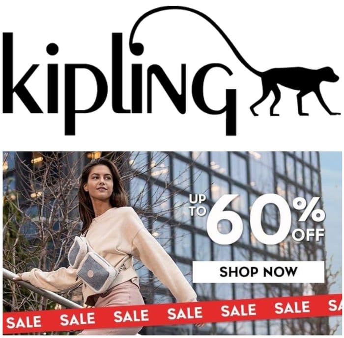 Kipling SALE - up to 60% OFF Bags, Backpacks & Luggage